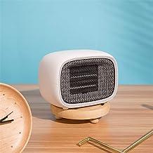 DJG Calentador, 500W Mini-Oficina en casa portátil de bajo Nivel de Ruido de Silencio de Control Inteligente de la Temperatura del Calentador de Ventilador Conveniente radiador Estufa