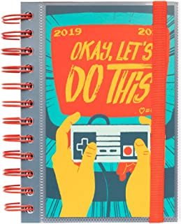 Gamer Daily Planner, Dated Middle School or High School Student Planner for Academic Year 2019-2020, 10 Months (September 2019 Through June 2020), Organizer, Calendar and Agenda