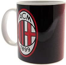 AC Milan Red And Black Halftone Boxed Mug