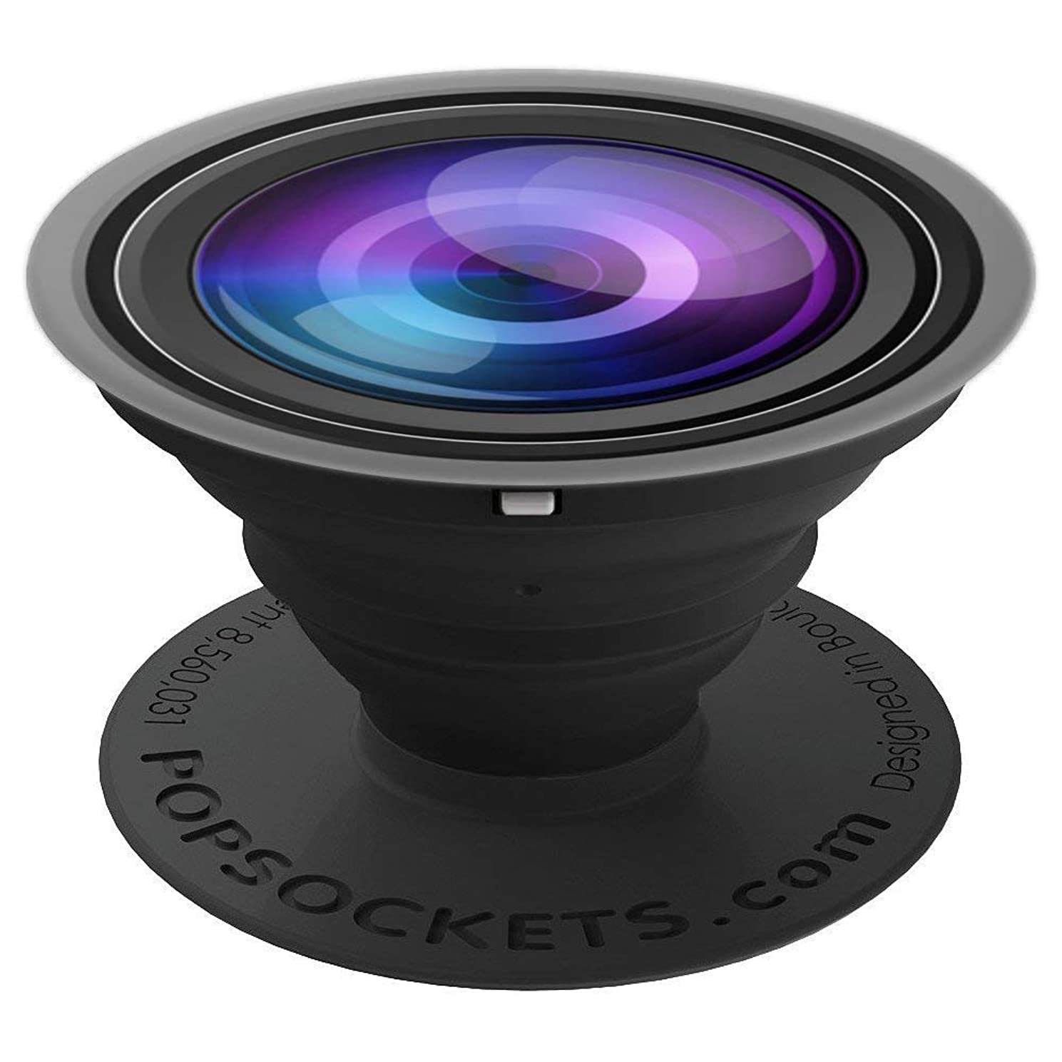 Cool Camera Lens Zoom Eye Design Photographer Photography - PopSockets Grip and Stand for Phones and Tablets