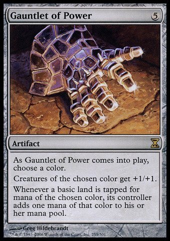 Magic The Gathering - Gauntlet of Power - Time Spiral