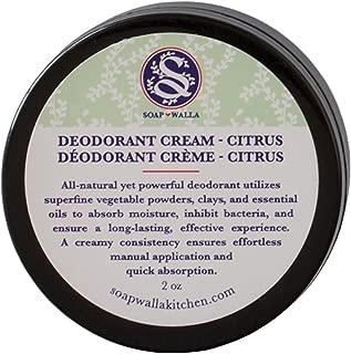 Soapwalla - Organic/Vegan Deodorant Cream (Citrus)