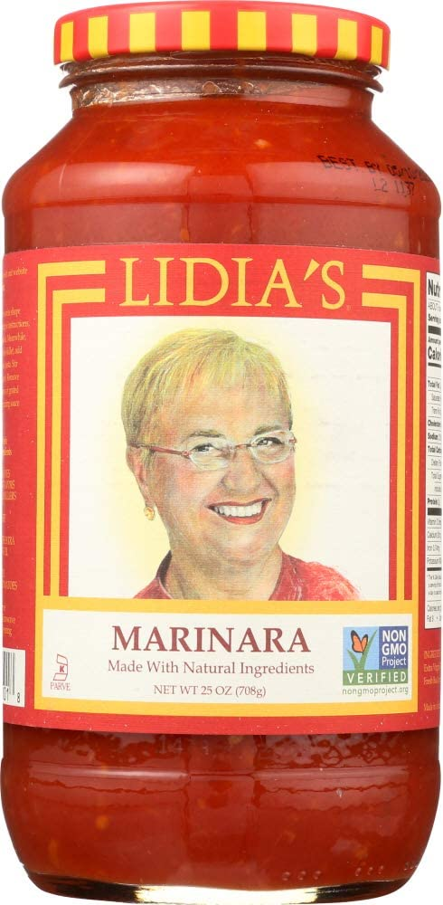 Lidia's NOT Seattle Mall Luxury A CASE Marinara Pasta Sauce