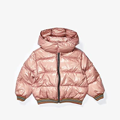Burberry Kids Josiah Jacket (Little Kids/Big Kids) (Lavender Pink) Girl