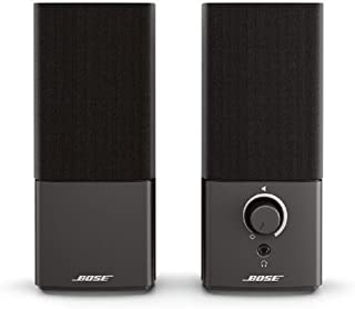 Bose 354495-5100 Bose Companion 2 Series III Multimedia Speakers, for PC (with 3.5mm AUX and PC input),Black