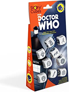 Creativity Hub Rory's Store Cubes: Doctor Who Dice Game Set