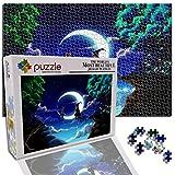 GFSJJ 1000 Piezas Jigsaw Puzzles para Adultos Kids Infantiles Adolescentes Personajes del Bosque De Fantasía Adultos Puzzle Educativos Entretenimiento Adultos (38 X 26 Cm)