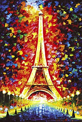 500 stks / 1000 stks houten volwassen puzzel educatief decompressie speelgoed Eiffeltoren getuigenis van liefde stuur tekeningen