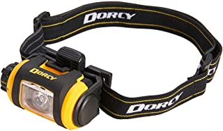Dorcy Pro Series 200-Lumen Weather Resistant LED Magnetic Headlight with Tripod, Yellow (41-2614)
