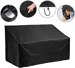 53-inch Outdoor Bench Cover Water Resistant Patio Bench Cover Durable Patio Furniture Sofa Loveseat Cover