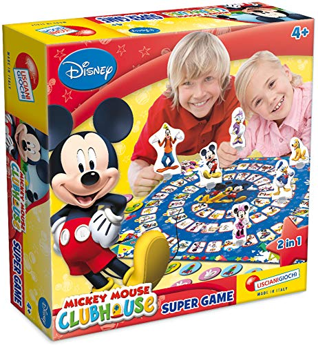 Disney 40629 Mouse Mickey Clubhouse Super Game, Multi Colour, One Size
