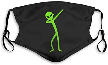 BJNHJS53 Dabbing Alien Activated Carbon Filters Unisex Adjustable Washable and Reusable for Outdoors