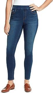Heidi Pull-On Skinny Jeans