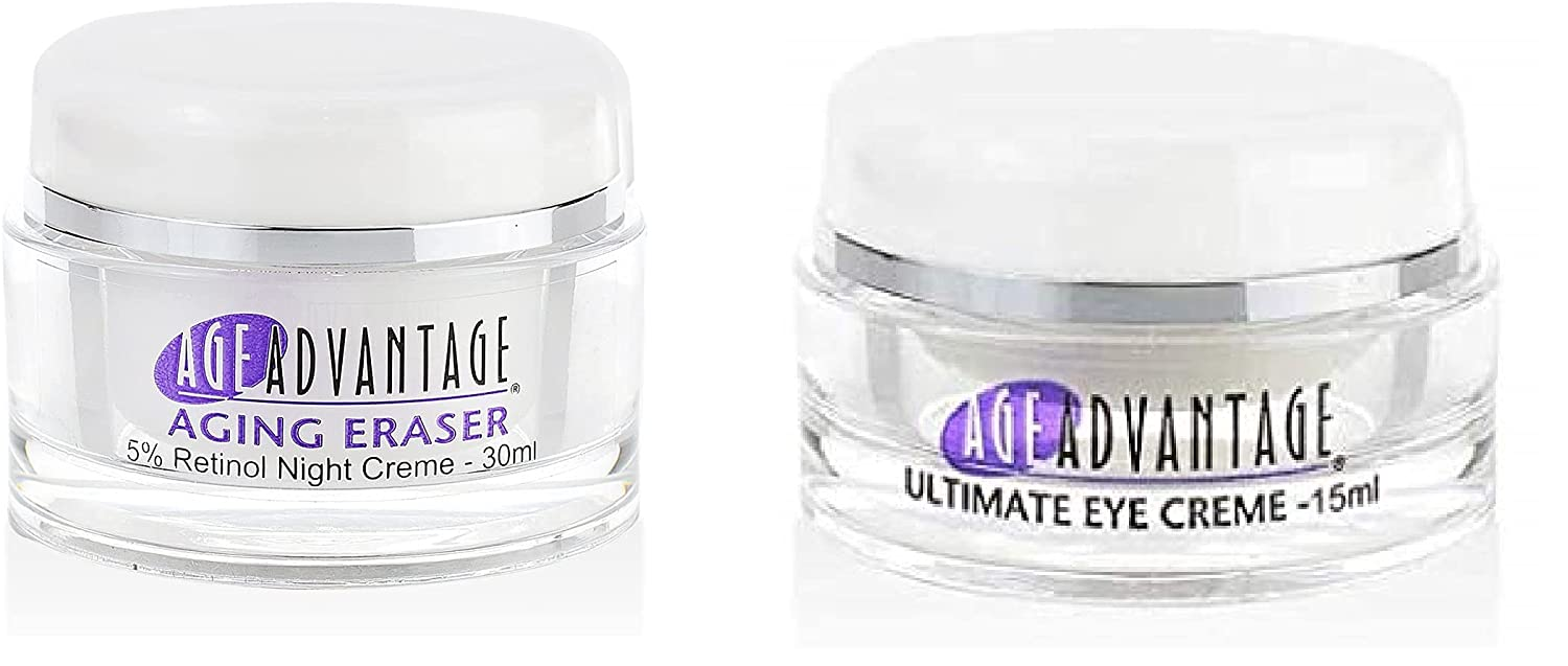 Age Advantage Skincare Wrinkle Easy-to-use Reduction Creme Agin Day and 30ml Japan's largest assortment