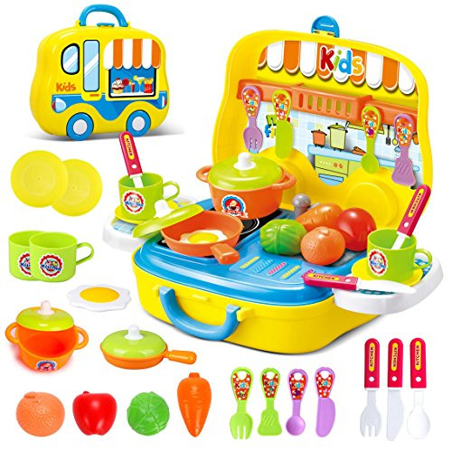 Koffer Küche - Dreamon Rollenspiel Küche Spielzeug