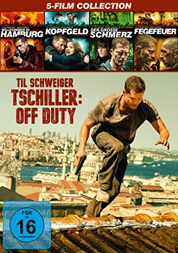 Box-Set: Tatort mit Til Schweiger (1-4) + Tschiller: Off Duty (6 DVDs)