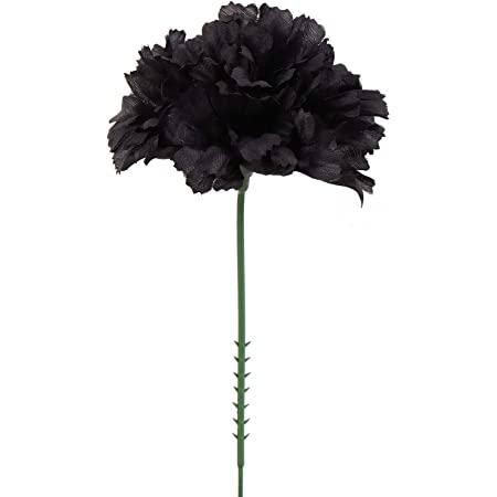 Artificial Flower Heads for Weddings DIY Decor 100 PINK Silk Carnation Picks 3.5 Carnation Heads with 5 Stems Decorations