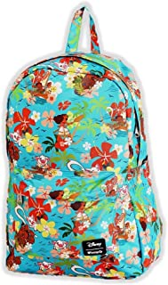 Loungefly Disneys Moana Floral All Over Print Backpack Standard