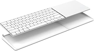 Bestand Stand for Magic Trackpad 2(MJ2R2LL/A) and Apple latest Magic Keyboard(MLA22LL/A) Apple Keyboard and Trackpad NOT Included (White)