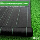 Elixir Gardens ® 5m x 10m Heavy Duty Weed Control Ground Cover Membrane