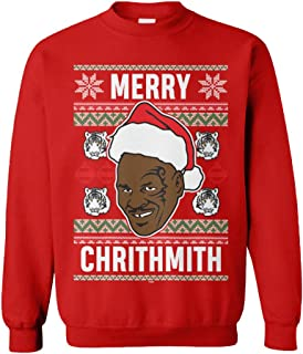 Merry Chrithmith - Tyson Funny Xmas Christmas Unisex Crewneck Sweatshirt