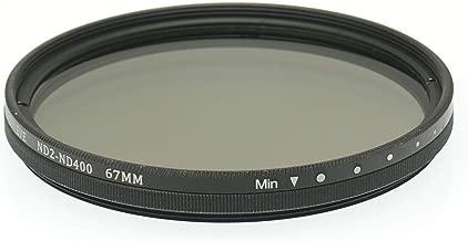 Gadget Career 67mm ND2 ND400 Variable Neutral Density Filter for Panasonic Leica Vario-Elmarit 50-200mm F2 8-4 0 ASPH Power OIS