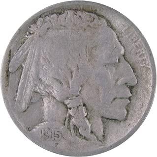 1915 5c Indian Head Buffalo Nickel US Coin Genuine