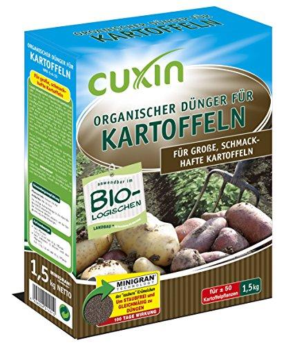 CUXIN DCM Organischer Dünger für Kartoffeln 1,5 kg