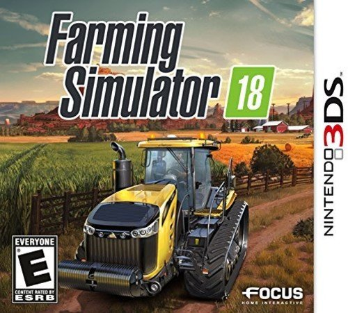 Farming Simulator 18 Nintendo - 3DS Max 71% OFF Popular overseas