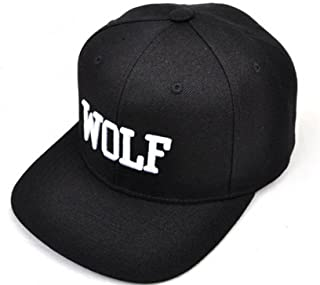EXO kpop hat album overdose new logo wolf embroidery word hiphop cap snapback