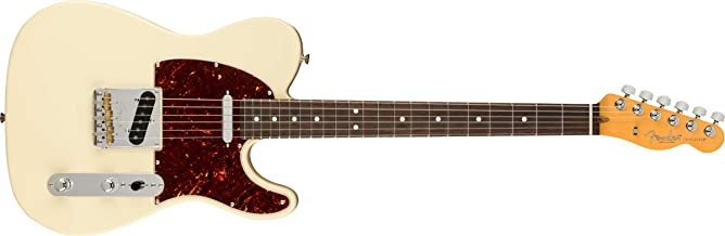 Fender American Professional II Telecaster Electric Guitar (Olympic White, Rosewood Fretboard)