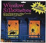 Amscan International 459021Fenster Spider Silhouette