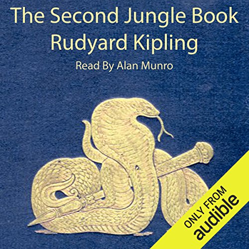 The Second Jungle Book audiobook cover art