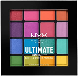 NYX PROFESSIONAL MAKEUP Ultimate Shadow Palette, Brights 04