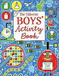 Boy's Activity Book (Doodling Books