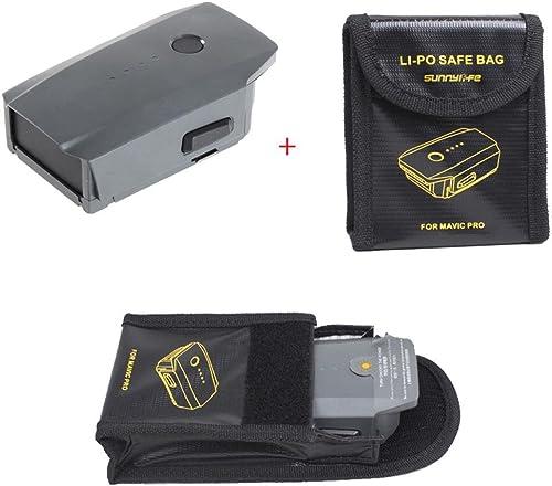 Hunpta 3830mAh intelligent Flumière batterie + batterie LiPo Safe prougeection d'écran pour DJI Mavic Pro Quadcopter Drone