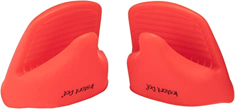 Instant Pot Silicone Mitts (Set of 2), Mini, Red