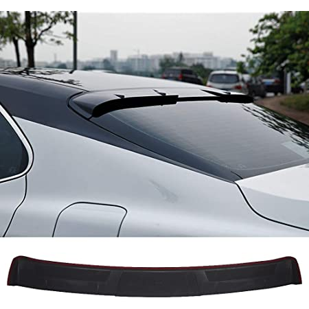 Black JR2 Painted For 2014-2020 MITSUBISHI LANCER-Rear Window Roof Spoiler