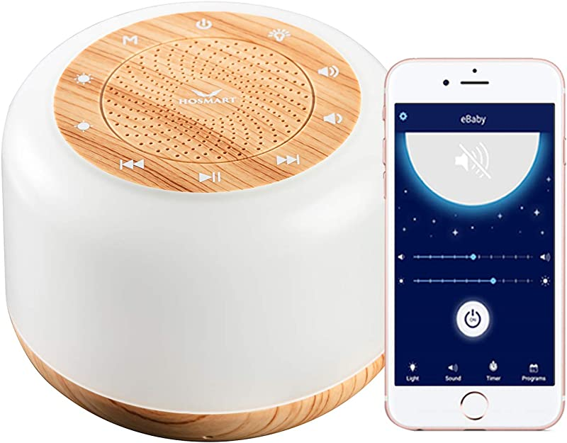 Hosmart EBaby Rest And Sleep Sound Machine Night Light And Time To Rise Ready To Rise Children S Trainer