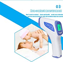 $89 » Aommy Forehead Thermometer - Diagnostic-Tool Digital for Baby Adult Non Contact Infared Temperature Measure 3-Color Backlight Celsius and Fahrenheit Accurate Instant Readings Professional