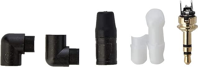 Neutrik NTP3RC-B Adaptador de Cable 3.5mm Negro - Adaptador para Cable (3.5mm, Macho, Negro)