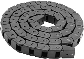 Transmission Chains - 7 X 15mm L1000mm Cable Drag Chain Wire Carrier With End Connectors Machine - Drag Chain Cable Plastic Saw Jewelry Cnc Chain Cnc Chain Transmission Chainsaw Weave Ca