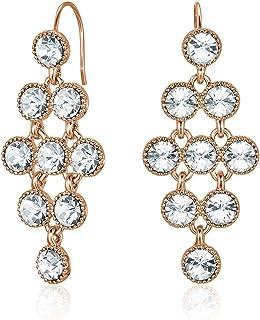 Mestige Larisa Women's Drop & Dangle Earrings with Swarovski Crystals - MSER3427