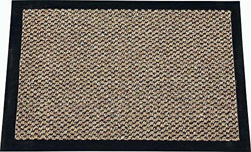 ID MAT 9015010 - Zerbino in Fibra, PVC e Polipropilene, 150 x 90 x 0,67 cm, Marrone, 90 x 150 cm