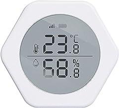 Xu Yuan Jia-Shop Termómetro Higrómetro Sensor de Temperatura y Humedad Inteligente Inicio Controlador inalámbrico Inalámbrico Sensor de Temperatura inalámbrico Digital Termohigrómetro