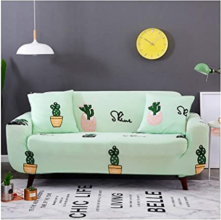 VGUYFUYH Slipcover Four Seasons General Sofa-Hülle All Inclusive Universal Stoff DREI Sofa-Bezug, C 145~180Cm
