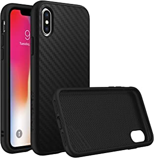 Rhino Shield Solid Suit For Iphone X- Carbon Fiber, Black