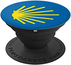Camino de Santiago Yellow Trail Marker Symbol - PopSockets Grip and Stand for Phones and Tablets
