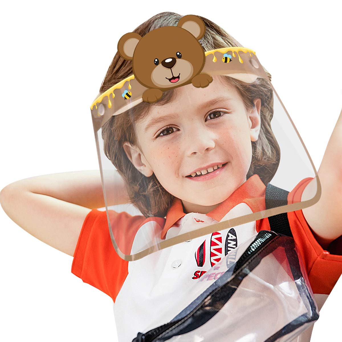 【US Max 48% OFF STOCK】10PCS Kids Safety grinding Shields Face for trend rank