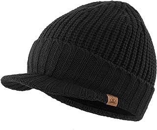 Home Prefer قبعة رجالي في الهواء الطلق Newsboy قبعة الشتاء الدافئة سميكة قبعة مع قناع